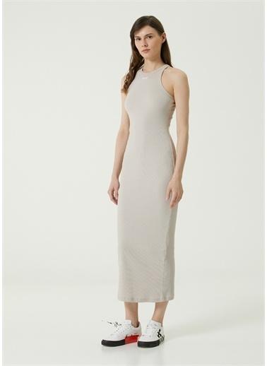 Off-White Elbise Gri